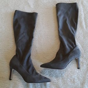 Nine West | NWT Gray stiletto boots
